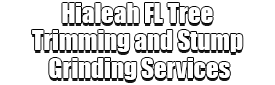 Hialeah FL Tree Trimming and Stump Grinding Services Logo-We Offer Tree Trimming Services, Tree Removal, Tree Pruning, Tree Cutting, Residential and Commercial Tree Trimming Services, Storm Damage, Emergency Tree Removal, Land Clearing, Tree Companies, Tree Care Service, Stump Grinding, and we're the Best Tree Trimming Company Near You Guaranteed!